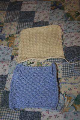 Knit Blanket Squares