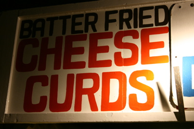 StPaul Cheese Curds Sign