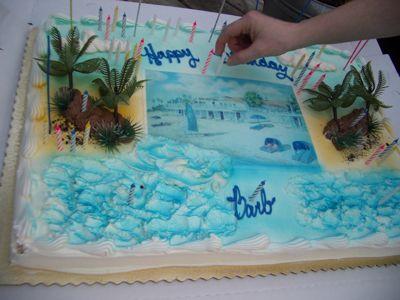 Bath Club BDay Cake