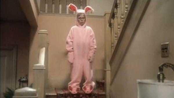 Christmas Story Bunny