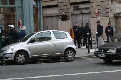 Riot Police Rue Monge