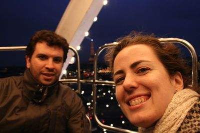 Ferris Wheel Seth and Rachel
