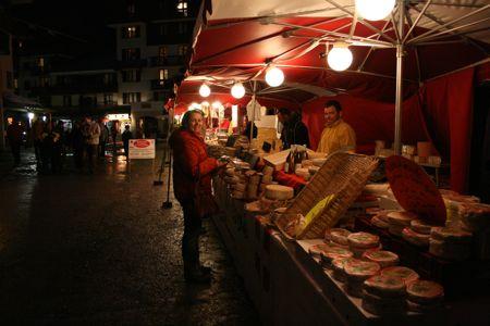 Valfrejus Cheese Market