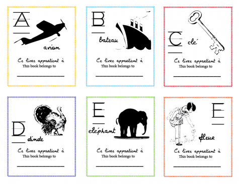 ABCBookplates