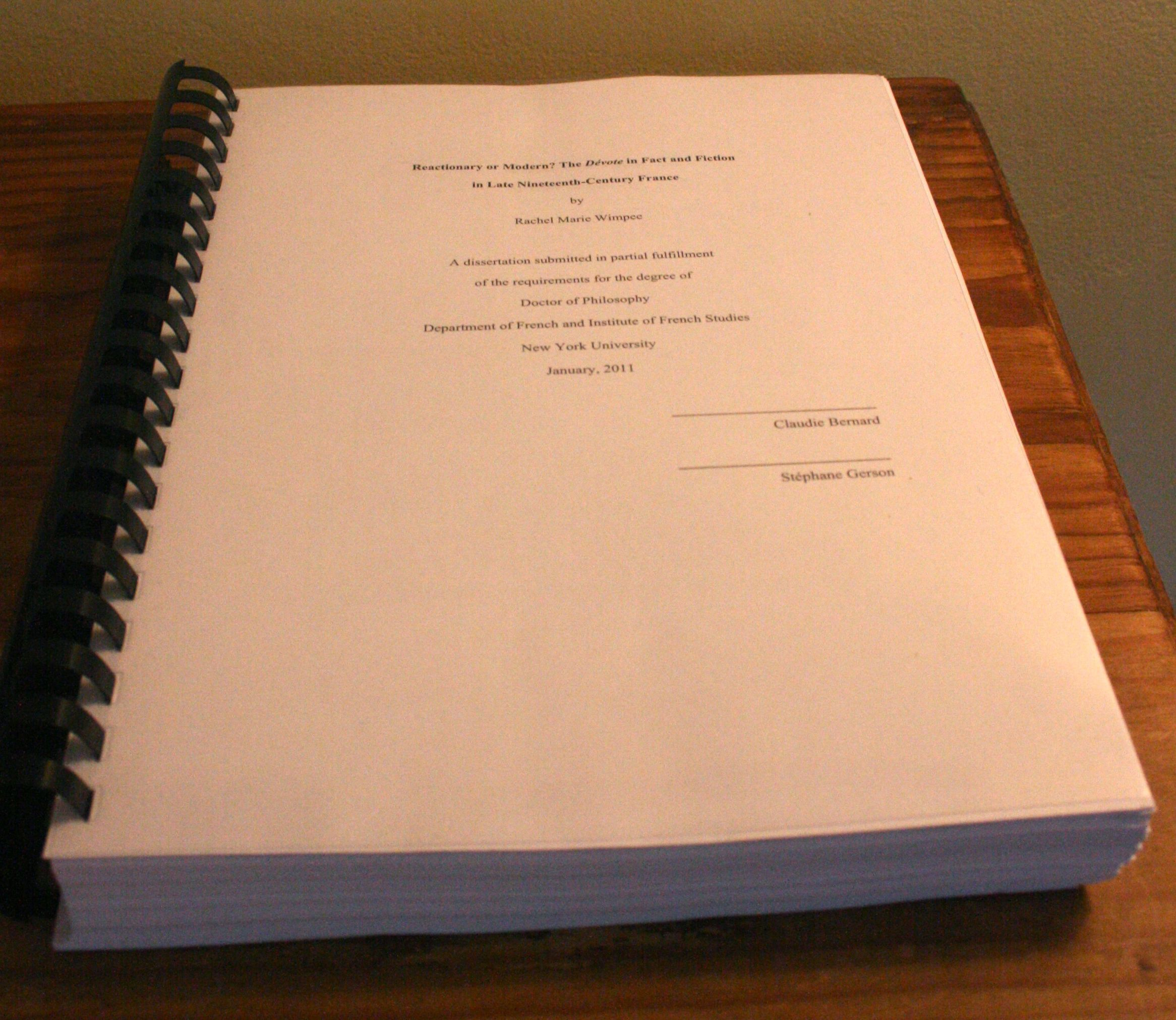 dissertation proposals construction managment